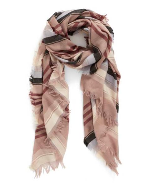multi plaid scarf