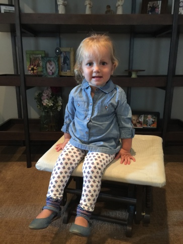 Ryann chambray outfit